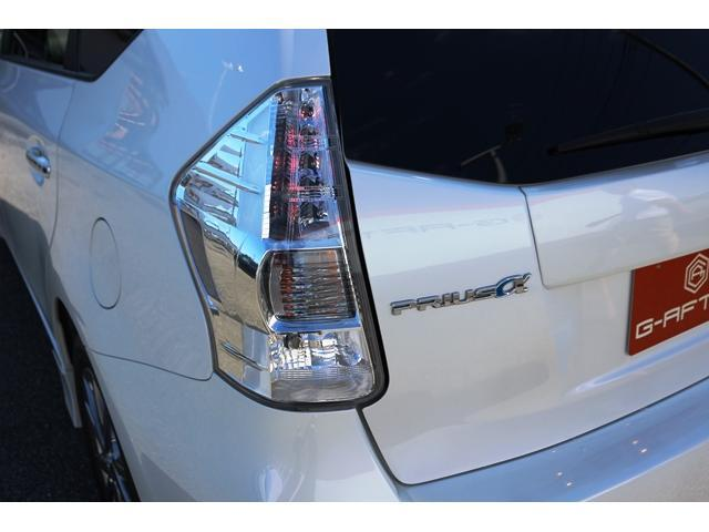 トヨタ プリウスアルファ S チューン ブラック社外HDDナビ地デジBカメラ純正AW