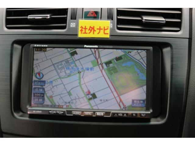 トヨタ マークXジオ 240G 社外ナビ地デジパワーシートHIDスマートキーフォグ