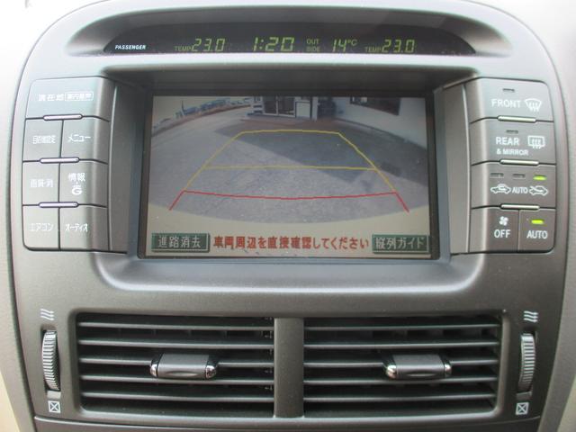 トヨタ セルシオ A仕様 純正DVDナビETCバックカメラクリアランスソナー