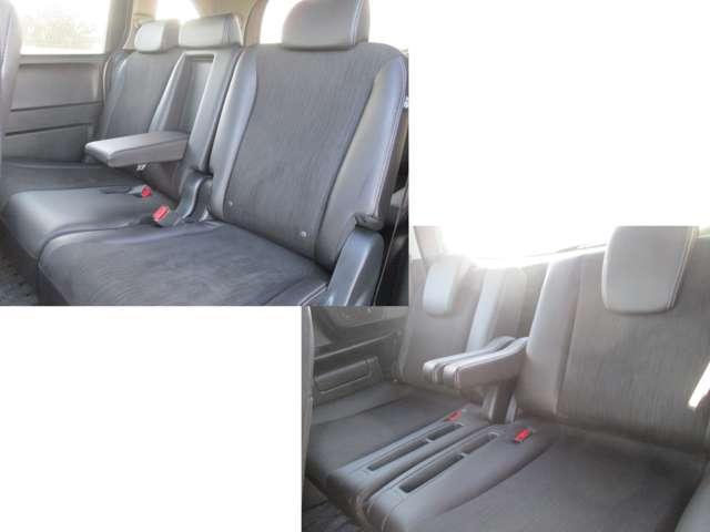 リアシートもゆったり広々。同乗者の方も快適なドライブをお楽しみ頂けます♪