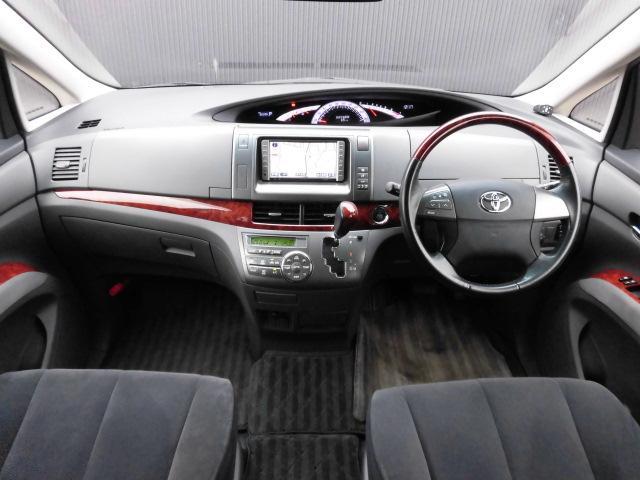 トヨタ エスティマ 2.4アエラス Gエディション 両側パワスラ 地デジ ETC