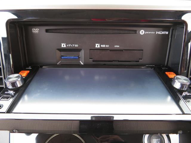 X 純正SDナビ フルセグ Bluetooth DVD アラウンドビューカメラ ETC アイドリングストップ エマージェンシーブレーキサポート 左側パワスラ インテリキー プッシュスタート ドアバイザー(8枚目)