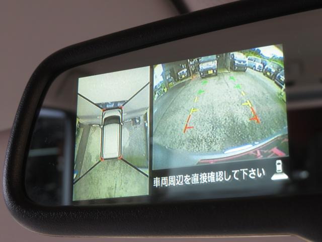 X 純正SDナビ フルセグ Bluetooth DVD アラウンドビューカメラ ETC アイドリングストップ エマージェンシーブレーキサポート 左側パワスラ インテリキー プッシュスタート ドアバイザー(9枚目)