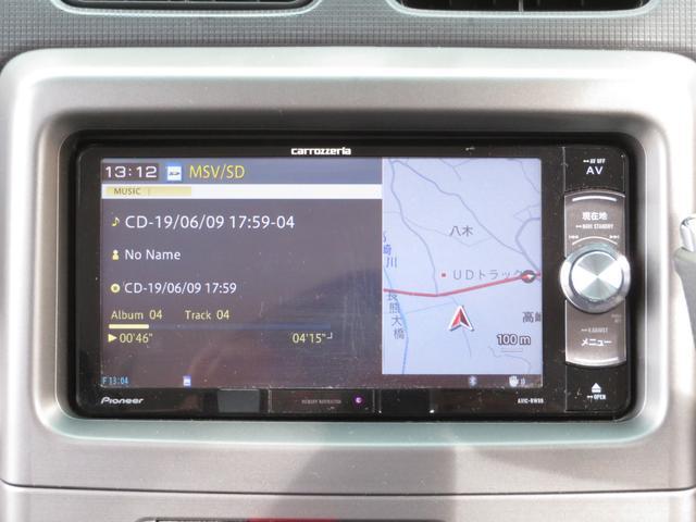 カスタム G 社外メモリーナビ フルセグ Bluetooth HIDヘッドライト スマートキー キーフリーシステム アイドリングストップ 純正14インチAW ドアバイザー ウィンカーミラー 電格ミラー(21枚目)