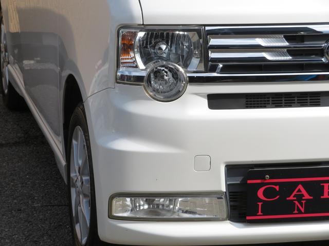 カスタム G 社外メモリーナビ フルセグ Bluetooth HIDヘッドライト スマートキー キーフリーシステム アイドリングストップ 純正14インチAW ドアバイザー ウィンカーミラー 電格ミラー(40枚目)