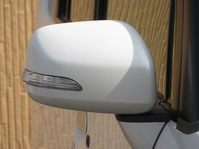 カスタム G 社外メモリーナビ フルセグ Bluetooth HIDヘッドライト スマートキー キーフリーシステム アイドリングストップ 純正14インチAW ドアバイザー ウィンカーミラー 電格ミラー(42枚目)