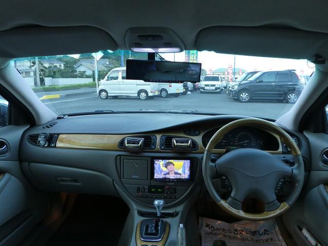 ジャガー ジャガー Sタイプ 3.0V6 HDDナビ フルセグ 本革シート HIDライト