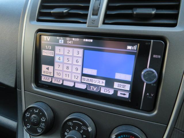 ナビ付き♪ナビがあればドライブが安心で楽しくなりますね♪また、バックカメラも装備されているので車庫入れの際も安心です♪テレビも映りますよ♪
