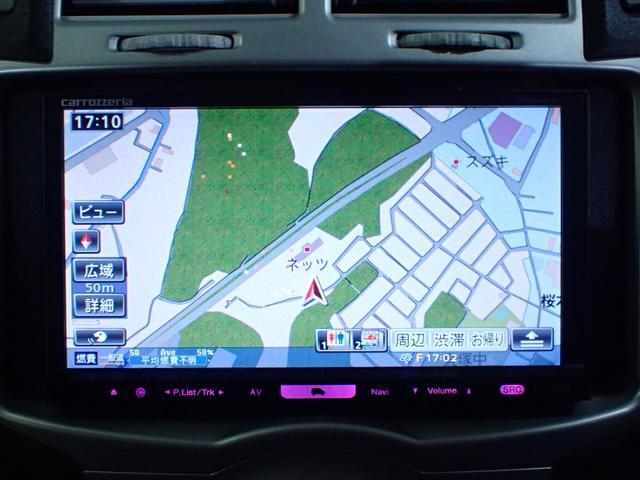 トヨタ ヴィッツ F HDDナビ フルセグTV ETC HIDヘッドライト