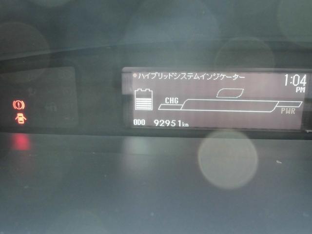 トヨタ プリウス S T-Value ETC SDナビ