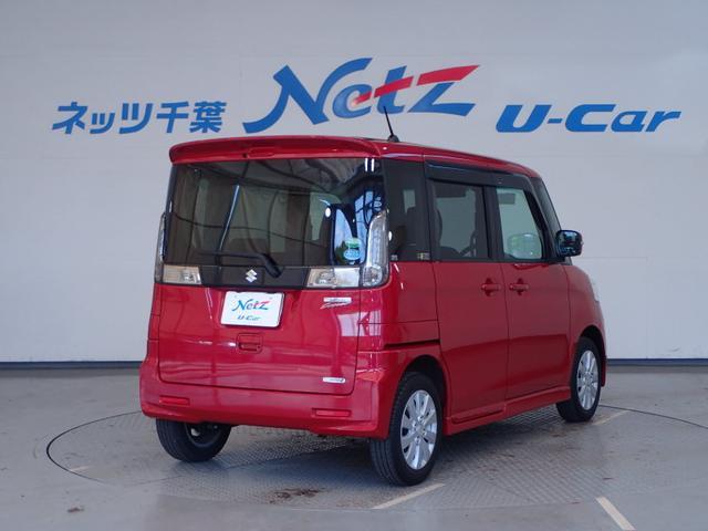 スズキ スペーシアカスタム GS  タイヤ4本新品 CDチューナー ETC 1オ-ナ-