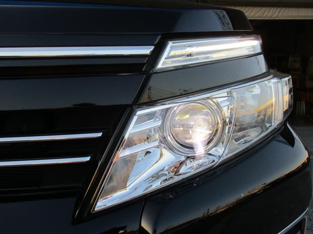 【LEDヘッドライト】 ロービームに、消費電力が少ない〔LED〕ヘッドランプです。 すぐに明るくなるのでトンネルなど急に暗くなった場合でも安心!