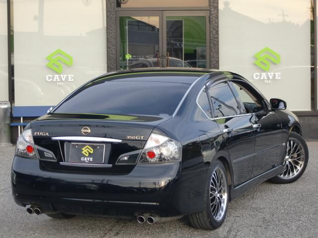 日産 フーガ 350GT タイプS HDDフルセグ黒革サンルーフ19AW
