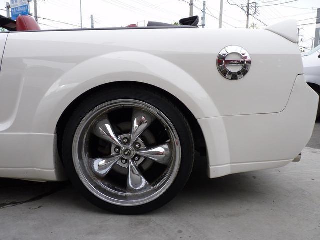 V6 コンバーチブル ゼノンエアロ ローダウン 20アルミ(13枚目)