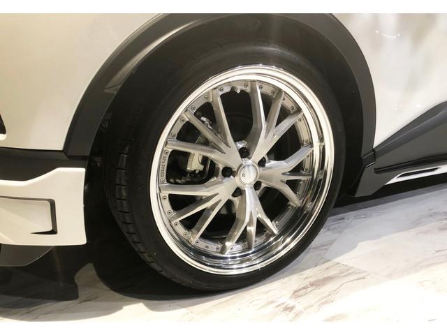 トヨタ C-HR G-T ZEUSコンプリート エアロマフラーサス20インチ