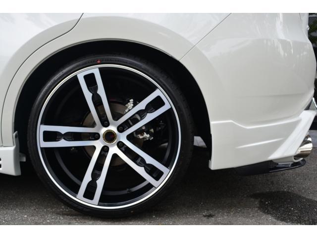 トヨタ ハリアー プレミアム ZEUS新車コンプリート車高調22インチマフラー