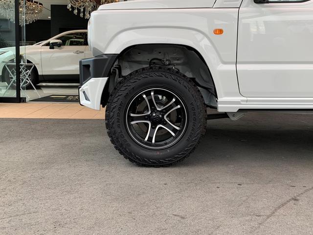XG ZEUSコンプリート エアロ フロントグリル ミラーカバー ウイング 16インチアルミ スペアタイヤ ツートンペイント JAOSリフトアップキット デモカー仕様(7枚目)