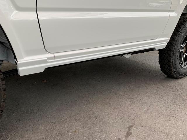 XG ZEUSコンプリート エアロ フロントグリル ミラーカバー ウイング 16インチアルミ スペアタイヤ ツートンペイント JAOSリフトアップキット デモカー仕様(14枚目)