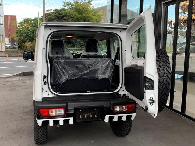 XG ZEUSコンプリート エアロ フロントグリル ミラーカバー ウイング 16インチアルミ スペアタイヤ ツートンペイント JAOSリフトアップキット デモカー仕様(18枚目)