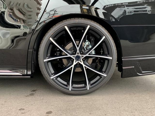 2.5S タイプゴールド ZEUSコンプリート フロントグリル トップモール 車高調 22AW 4本出しチタンカラーマフラー ツインムーンルーフ 寒冷地仕様 リアゲートスポイラー(11枚目)