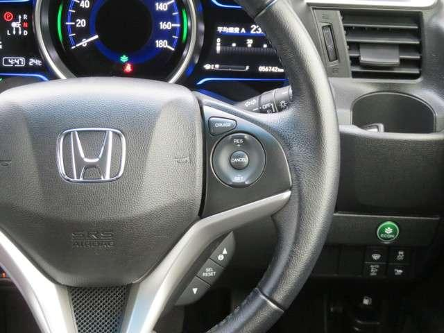 クルーズコントロールを装備。アクセルペダルを踏まずに定速走行できます。高速道路等での運転をより快適に!!