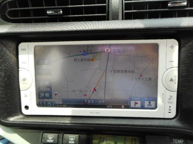 トヨタ アクア S ETC ワンセグTV スマートキー メモリーナビ