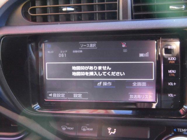 トヨタ アクア S スマートエントリーPKG ナビレディ