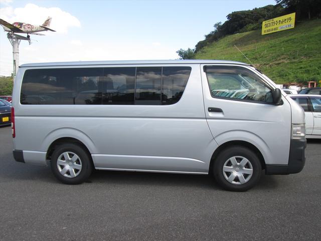 トヨタ ハイエースバン ロングDX 9人乗り ワンセグナビ キーレス ETC PW