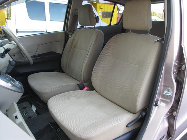 フロントシート、綺麗な状態です。