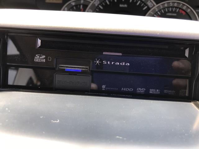 PanasonicストラーダHDDナビ、フルセグTV、DVD再生、CD、Bluetooth♪