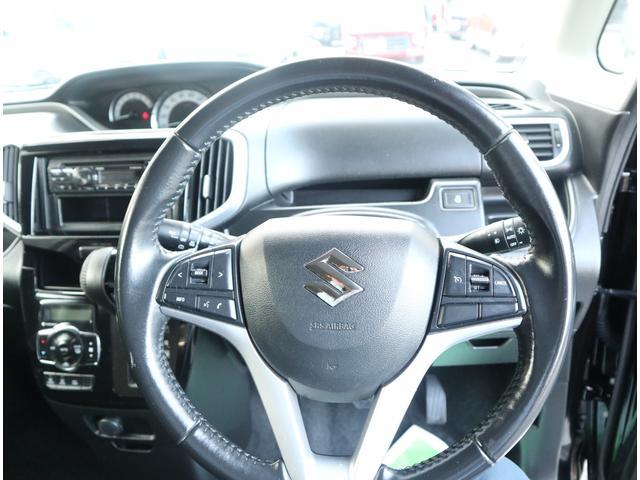 ハイブリッドMV CD ETC 左電動スライドドア LEDヘッドライト スマートキー ステアリングリモコン シートヒーター(34枚目)