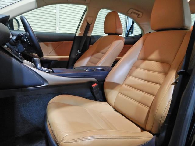 IS300h バージョンL セミアニリン本革ブラウン シートヒーティング クリアランスソナー LEDヘッドランプ クルーズコントロール ベンチレーションシート(10枚目)