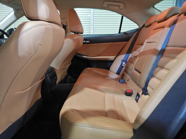 IS300h バージョンL セミアニリン本革ブラウン シートヒーティング クリアランスソナー LEDヘッドランプ クルーズコントロール ベンチレーションシート(12枚目)
