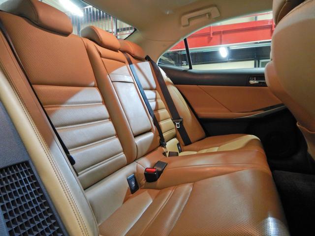 IS300h バージョンL セミアニリン本革ブラウン シートヒーティング クリアランスソナー LEDヘッドランプ クルーズコントロール ベンチレーションシート(19枚目)