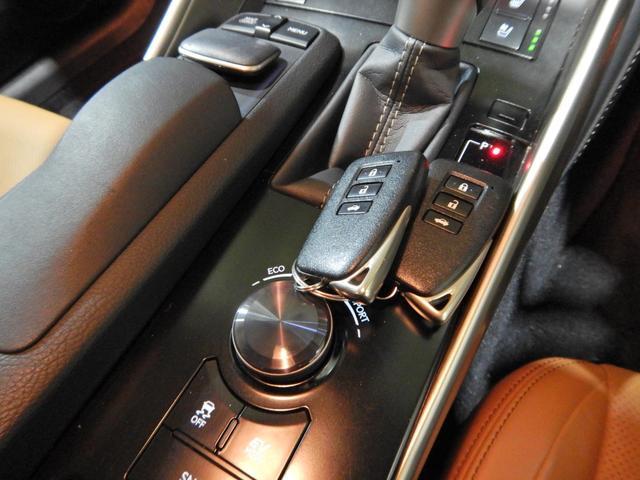 IS300h バージョンL セミアニリン本革ブラウン シートヒーティング クリアランスソナー LEDヘッドランプ クルーズコントロール ベンチレーションシート(32枚目)