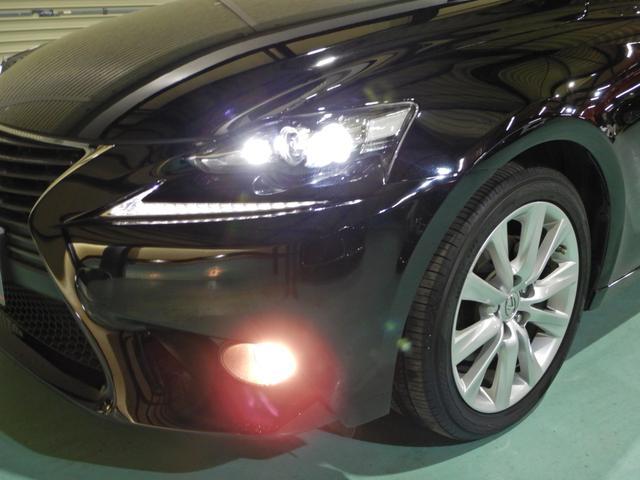 IS300h バージョンL セミアニリン本革ブラウン シートヒーティング クリアランスソナー LEDヘッドランプ クルーズコントロール ベンチレーションシート(34枚目)