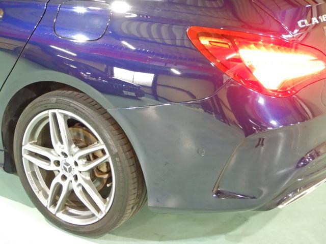 CLA180 シューティングブレーク AMGスタイル レーダーセーフティ ハーフレザーシート シートヒーター キーレスゴー LEDヘッドライト 18インチAMGホイール HDDナビ リアビューカメラ(35枚目)