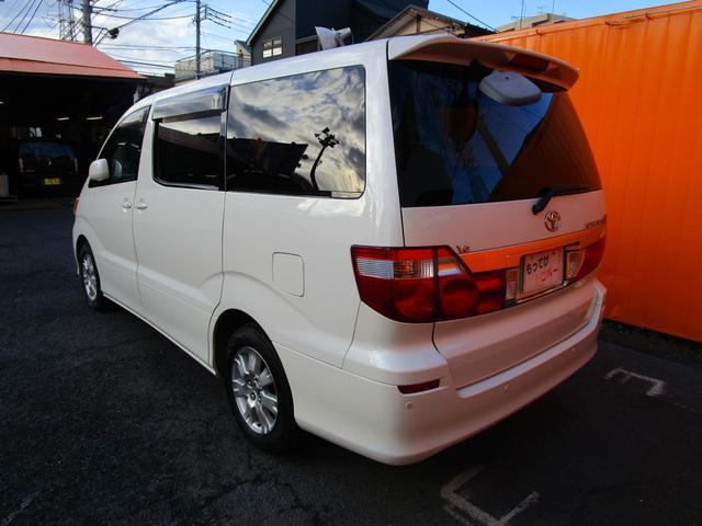 トヨタ アルファードG MX Lエディション 社外ナビ ETC キーレス キセノン