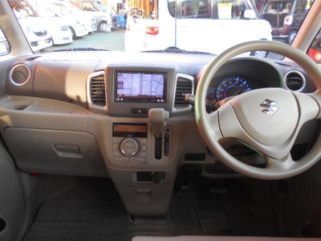 T 1オーナー カロッツェリアメモリーナビ フルセグ CD DVD Bluetooth ETC ターボ車 左パワースライドドア アイドリングストップ(6枚目)