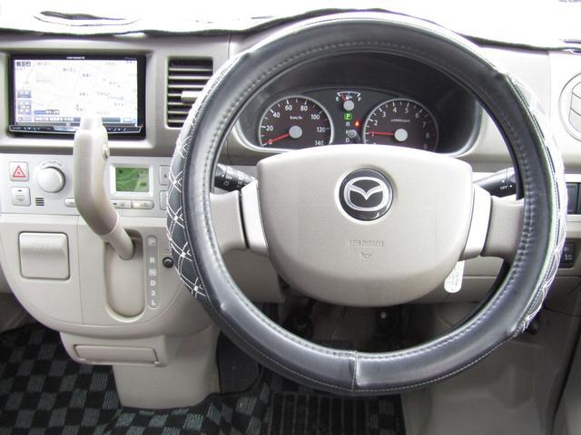 マツダ スクラムワゴン PZターボ HDDナビ 左オートスライド ETC