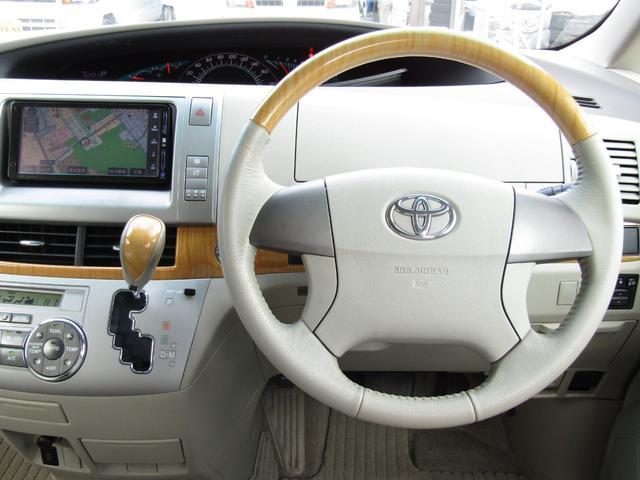 トヨタ エスティマ 2.4アエラス Gエディション HDDナビ スマートキー