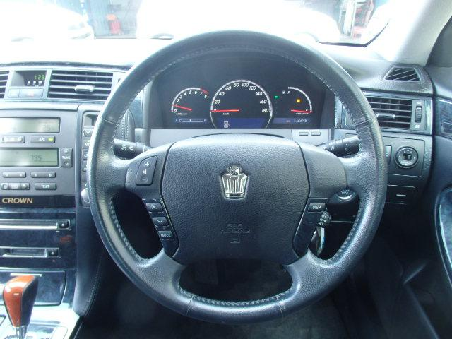 トヨタ クラウン アスリート 社外19インチアルミ 車高調 スマートキー