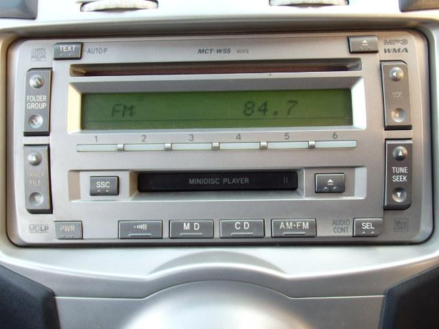 トヨタ ヴィッツ F キーレス 純正CD MD Tチェーン車