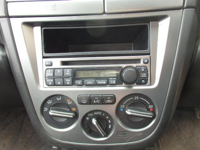 スバル インプレッサスポーツワゴン 15i 社外アルミ 純正CD