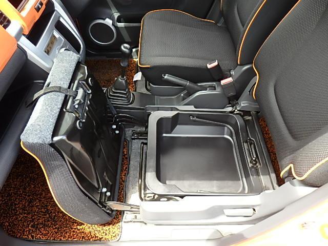 G 4WD 5速MT アイストップ シートヒーター ツートン(44枚目)