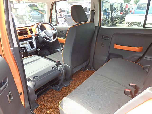 G 4WD 5速MT アイストップ シートヒーター ツートン(47枚目)