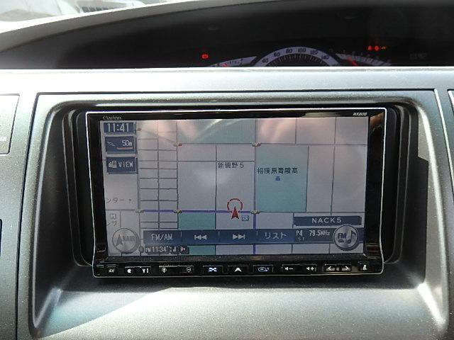 アエラス HDDナビ CD DVD SD MSV フルセグTV フリップダウンモニター 両側Pスライド シートカバー Bカメラ ETC プッシュスタート クルコン HID オートライト GPSレーダー 8人乗り(39枚目)