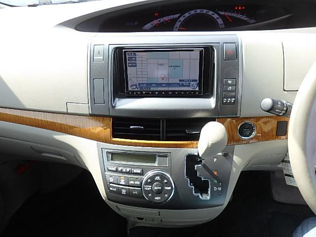 アエラス HDDナビ CD DVD SD MSV フルセグTV フリップダウンモニター 両側Pスライド シートカバー Bカメラ ETC プッシュスタート クルコン HID オートライト GPSレーダー 8人乗り(43枚目)