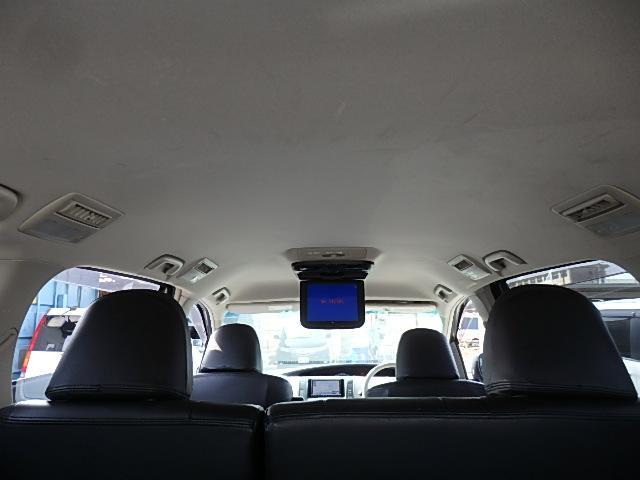 アエラス HDDナビ CD DVD SD MSV フルセグTV フリップダウンモニター 両側Pスライド シートカバー Bカメラ ETC プッシュスタート クルコン HID オートライト GPSレーダー 8人乗り(55枚目)