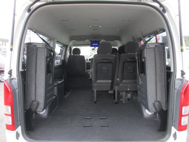 トヨタ ハイエースワゴン GL10人乗り モデリスタエアロ SDナビ 後席モニターTV